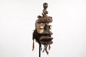 "Dan We Guere Wobe Mask 25"" - Ivory Coast/Liberia - African Art"