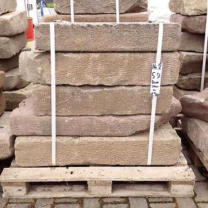 2019 Nouveau Style Antique Buntsandstein Maçonnerie Mur Plaques Recouvrement Sandsteine Pierre