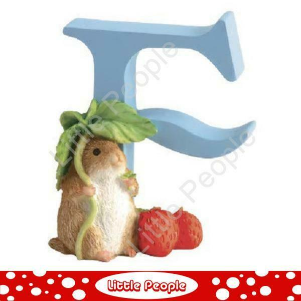 """Peter Rabbit Letters - Letter """"F"""" with Timmy Willie"""