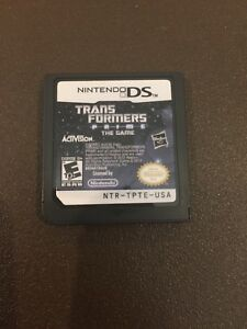 Transformers Prime The Game Nintendo DS GET IT FAST ~ US SHIPPER