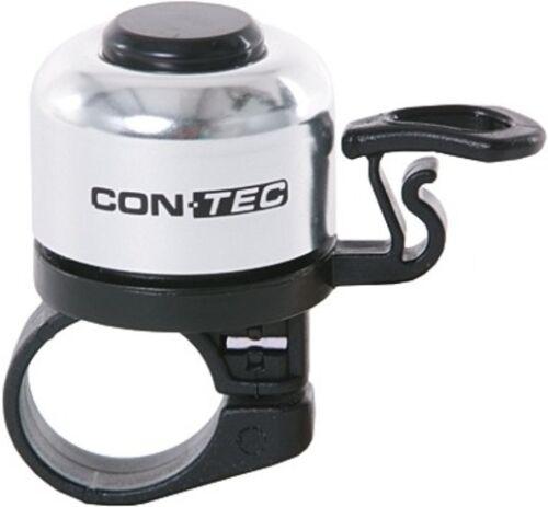 CONTEC miniglocke vélo sonnette vélo Cloche Mini Bell top qualité argent