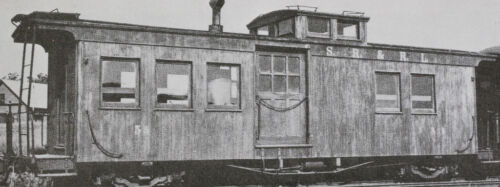 Funaro F/&C 5030 HOn3 SR/&RL Sandy River Rangeley LAKES Narrow Gauge CABOOSE  SRRL