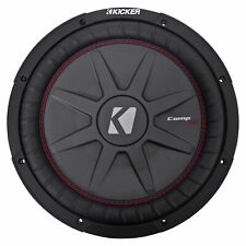 KICKER 43CWRT121 CompRT CWRT121 12 Inch Dual 1 Ohm Subwoofers 2