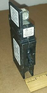 Airpax 209-1-25195-1 Circuit Breaker 20A 120/240V 50/60Hz LR26229