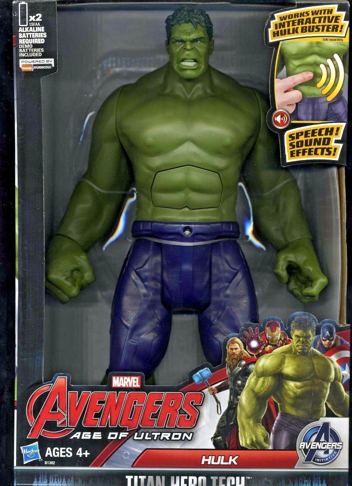 Elektronische hulk (((roten)))    im alter von ultron titan held action - figur