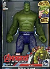 ELECTRONIC HULK ((( TALKING))) AVENGERS: AGE OF ULTRON TITAN HERO ACTION FIGURE