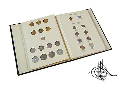 Syria 1920-1960 Coin Album inc. 1921 1929 1933 1935 1936 1937 1940 1948 1956 etc