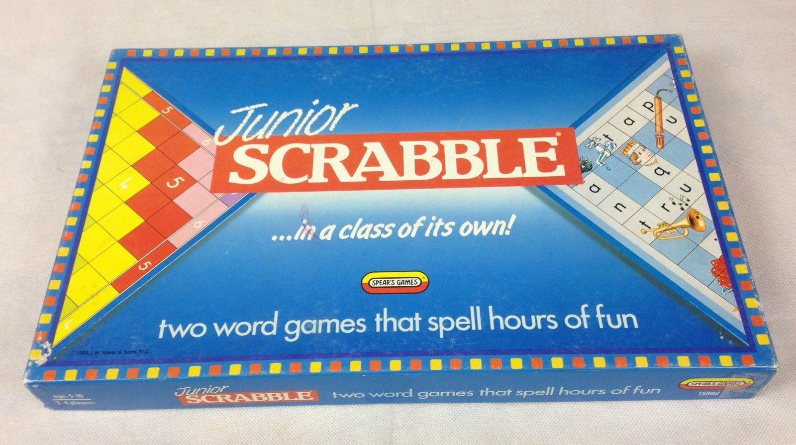 Junior Scrabble Scrabble Scrabble Juego De Mesa aa8df5