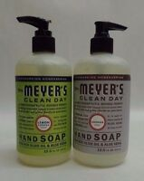 Mrs Meyers Clean Day Gentle Liquid Hand Soap Choose Your Scent 12.5 Oz