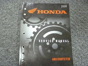 image is loading 2008-honda-arx1500t3-amp-arx1500t3d-aquatrax-jet-ski-