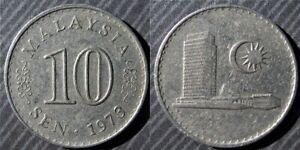 MALAYSIA-10-sen-1973