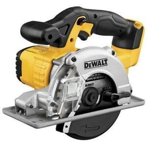 DeWALT DCS373B 20V Cordless Lithium Ion Metal Cutting Circular Saw - Bare Tool