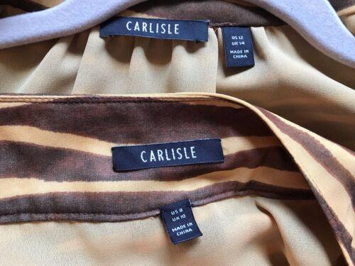 e parte gonna pezzi M taglia 2 Brown superiore Carlisle yellows pxwqXFY4f