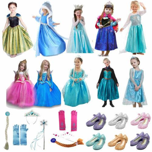 Robes De Princesse Pour Fille Ebay