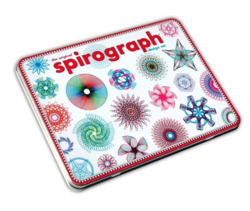 Spirograph Design Tin Set Original Super Deluxe Kahootz Toy Kids Art Case Travel