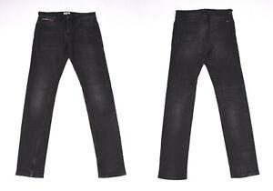 Tommy Hilfiger Slim Tapered Denim Schwarz Herren Jeans W31 L34