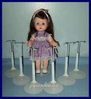 6 Kaiser Doll Stands For Arranbee/vogue Littlest Angel Tiny Terri Lee