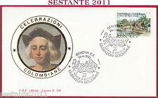 ITALIA FDC ROMA LUXOR 518 CELEBRAZIONI COLOMBIANE NUOVO MONDO 1992 GENOVA S261