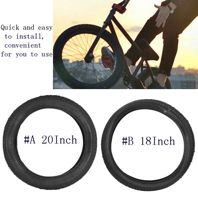 Ultralight 18//20Inch Folding Bicycle Bike Tire Outer Tube Explosion-Proof Tyre