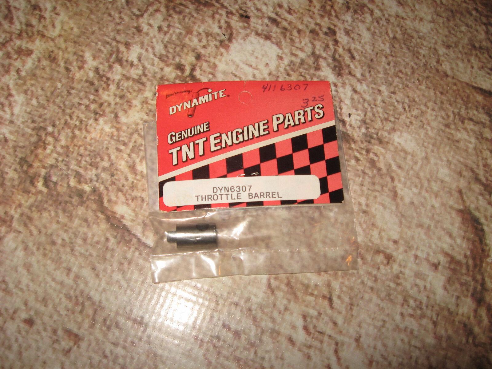 VIntage RC Dynamite Nitro Engine Spares (1) Thredtle Barrel DYN6307