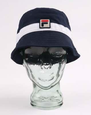 WHITE //// BNWT //// FILA BASIL BUCKET HAT IN PEACOAT
