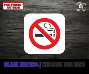 PROHIBIDO-FUMAR-NO-SMOKING-TABACO-VINILO-PEGATINA-VINYL-STICKER-DECAL-ADESIVI