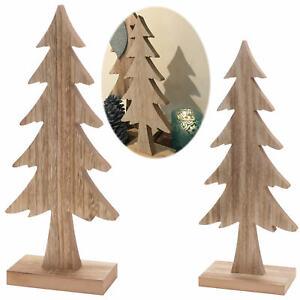 Sehr XL Design Deko Holz Weihnachtsbaum Tannenbaum 39-55cm Holz-Baum X WD81