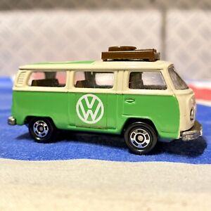 RARE-Tomica-No-17-1977-VINTAGE-1-67-SCALA-pressofusione-VW-Microbus-Quasi-Nuovo