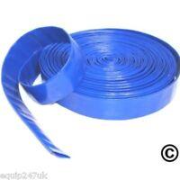 20M x 32mm (1.25inch) BLUE  LAYFLAT HOSE WATER PUMP SUBMERSIBLE PUMP HOSE