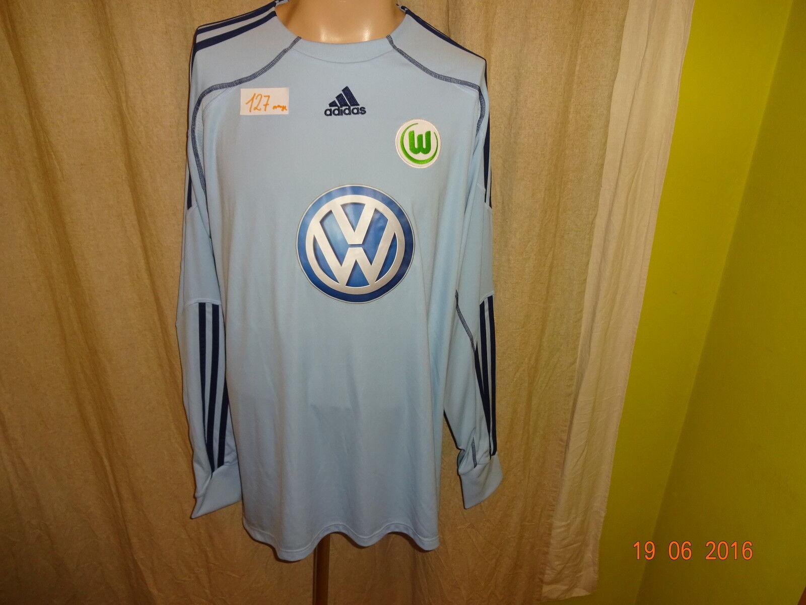 VfL Wolfsburg Adidas Formotion Spieler Version Torwart Trikot 2009 10 Gr.XXL Neu