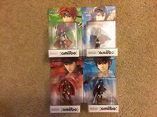 Amiibo Fire Emblem Lot - Marth, Roy, Ike, Lucina New IN BOX EU & US Version