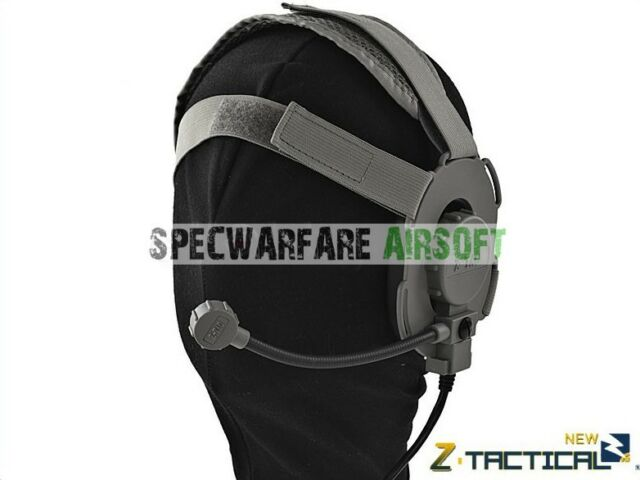 Z Tactical Bowman EVO III Doulbe Side Headset (Olive Drab) Z029-FG