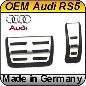 OEM Audi A5 S5 RS5 8T Aluminium Sport Pedal Kit Automatic