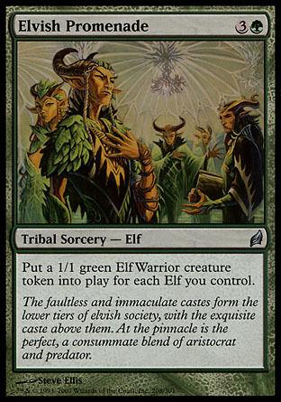 4x Elvish Promenade Lorwyn MtG Magic Green Uncommon 4 x4 Card Cards