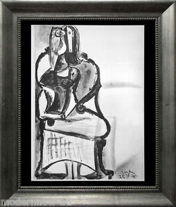 P-PICASSO-Lithograph-25-7-40-Justification-LIMITED-Edition-Custom-FRAMING