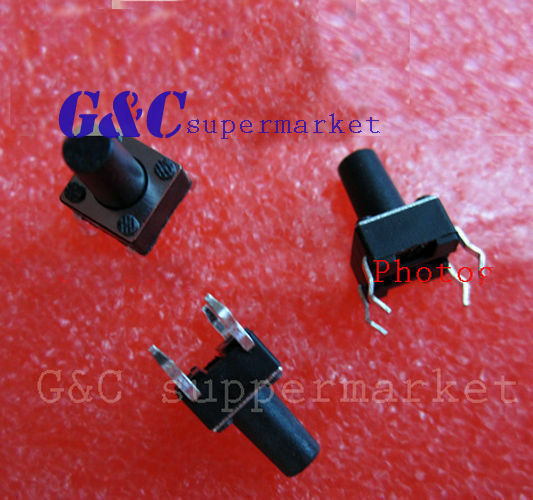 10pcs Micro switch push button 6 * 6 * 9 mm new good quality