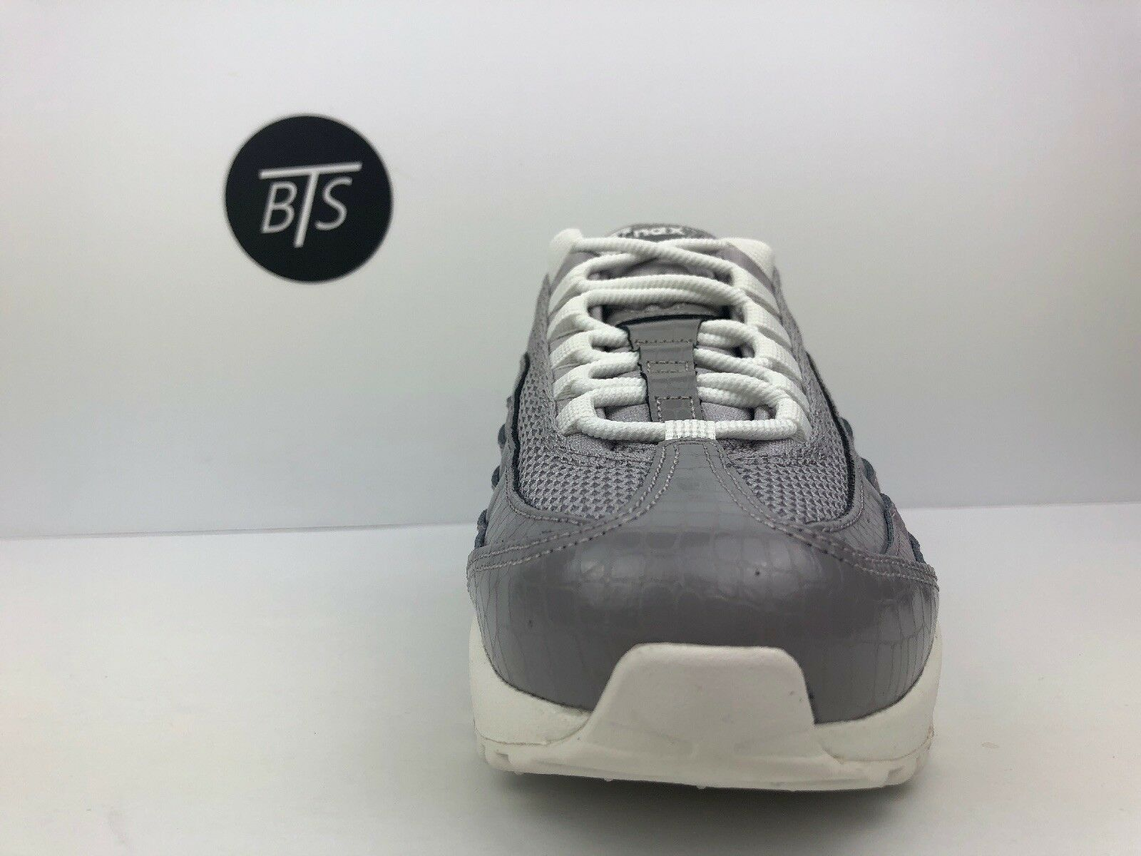 "Women's Nike Air Max Max Max 95 PRM ""Atmosphere"" Size-8 Grey White (807443 015) bef7ec"