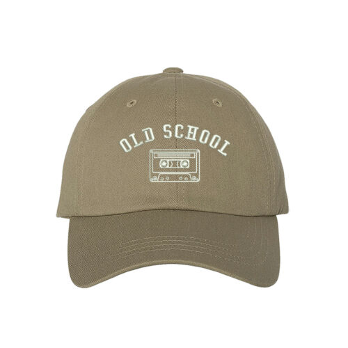 Many Styles Old School Cassette Tape Embroidered Dad Hat Baseball Cap