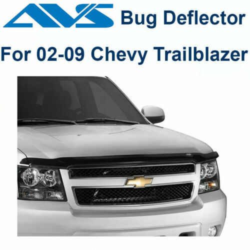 AVS Hoodflector Bug Deflector Smoke 2002-2009 Chevrolet Trailblazer 21643