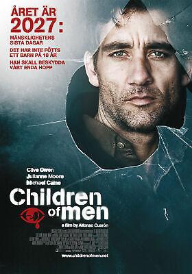 R541 CHILDREN OF MEN Movie RARE Version-Print Art Silk Poster