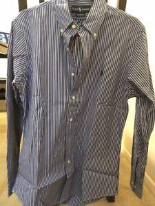 super cute exclusive deals classic Details about Ralph Lauren Men Custom Fit Dress Shirt Size 15 32/33