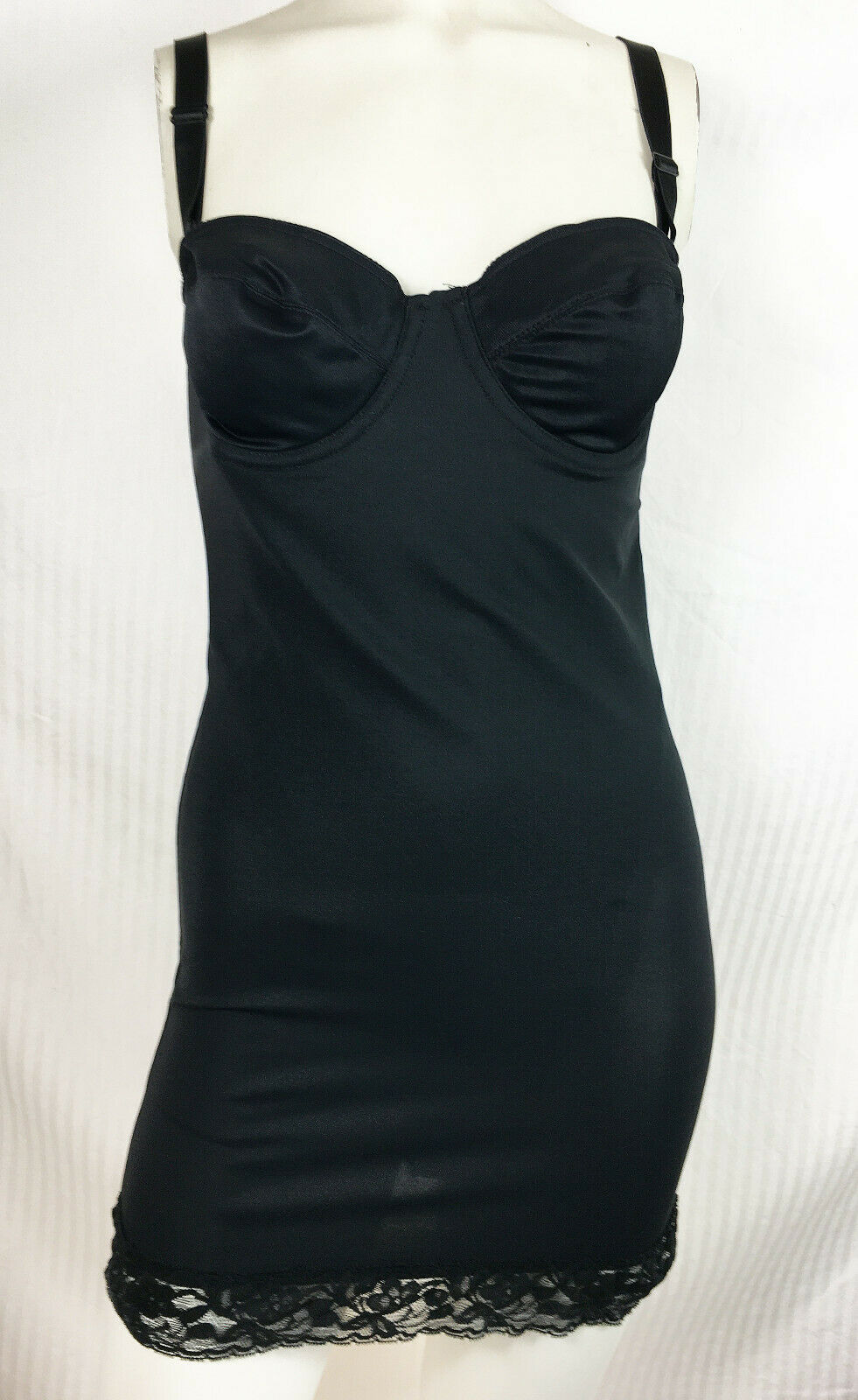 90s Nancy Ganz Bust Boosting Body Slip / Dress Un… - image 2