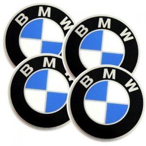 original 4x bmw radkappe logo emblem aufkleber plakette 60 mm ebay. Black Bedroom Furniture Sets. Home Design Ideas