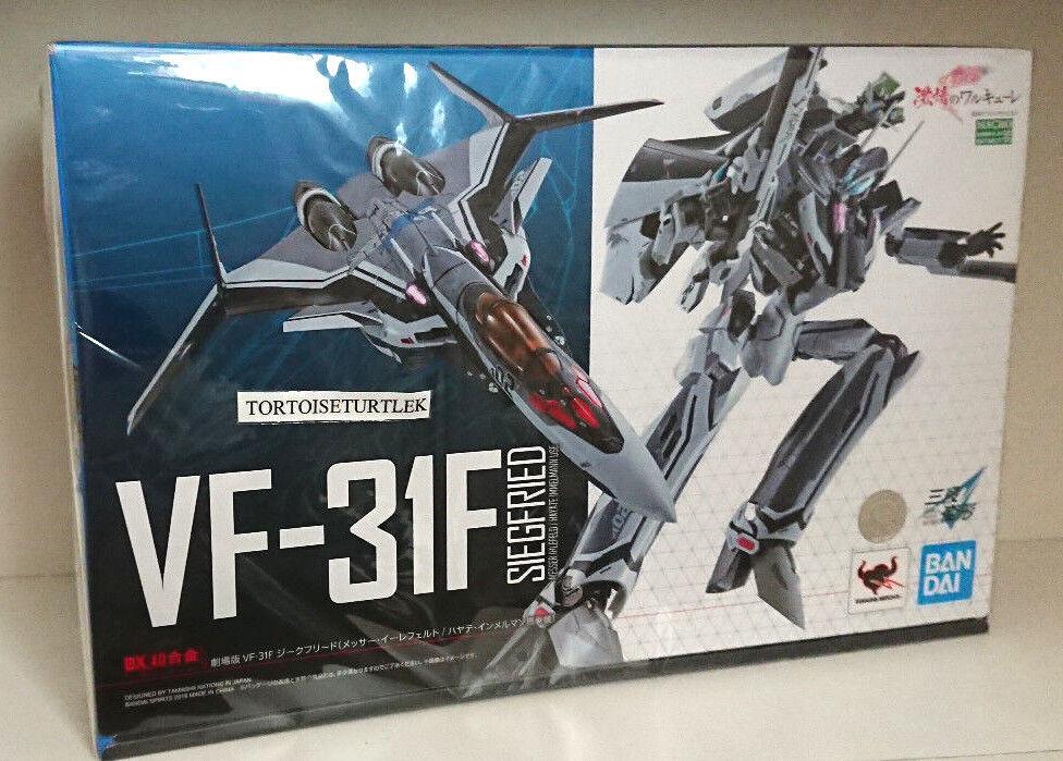 DX Chogokin Macross Delta VF-31F Movie ver Siegfried Messer Hayate Action Figure