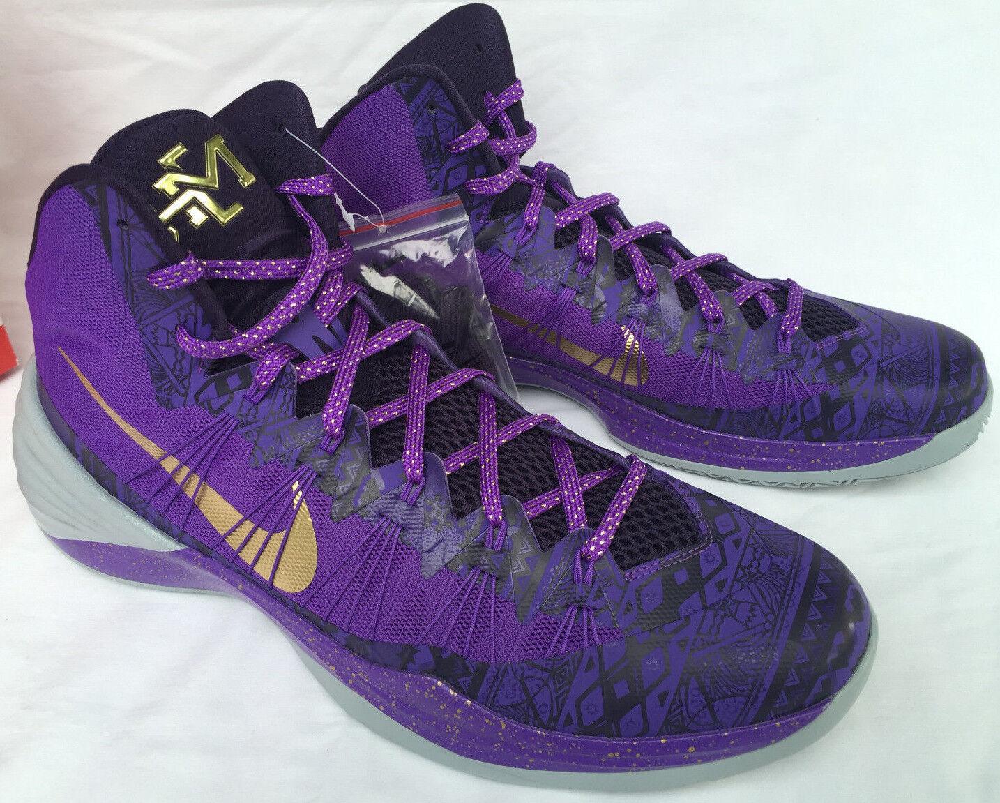 Nike Hyperdunk 2018 Promo 668771-575 Chaussures BHM Noir History Basketball Chaussures 668771-575  Hommes 16 3f1e86