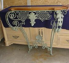 Ethan Allen Wrought Iron Entryway Console Table with Mirror Warren MI 48088