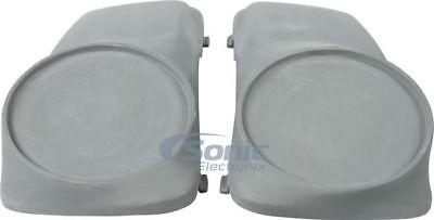 Fiberglass Extreme Universal Pair of Harley Davidson Saddle Bag Replacement Speaker Lids