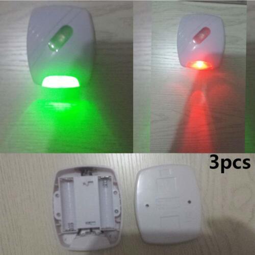 lampe PT 3 pcs führte wc bad nacht licht die menschliche bewegung aktiviert