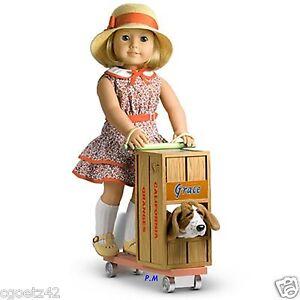 "American Girl Kit Homemade Scooter for 18"" doll Maryellen Grace Molly EmilyNIB"