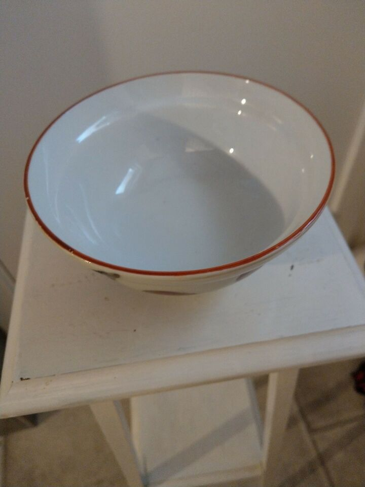 Porcelæn, Skål, Ukendt